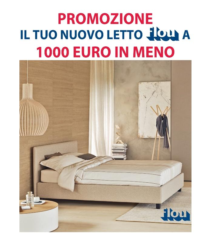 Promozione Letto Flou A 1000 Euro In Meno Ferrari Arredamenti